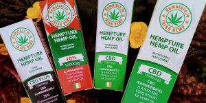 Hempture CBD oil range. Organic, Natural, Full Spectrum extract.