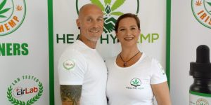 Dave & Dallas of Healthy Hemp, Stockists of Irish & EU brand leaders, IIHA Approved & Eirlab tested